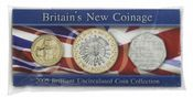 2005 New Coinage Brilliant Uncirculated Pack